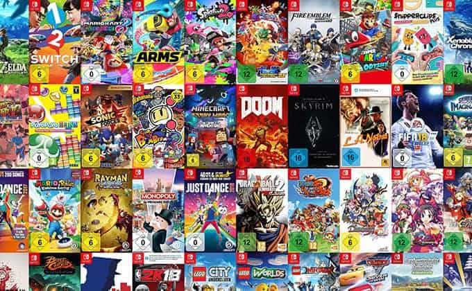 Here's every Nintendo Switch game available now (and …